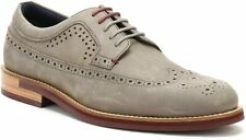 Ted Baker Fanngo longwing brogue Beige/Brown Shoe UK Size 7 RRP £140