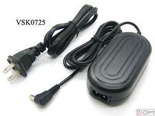 AC Adapter For Panasonic VDR-D100 VDR-D105 VDR-D150 VDR-D152 VDR-D158 VDR-D160