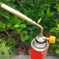 Portable Gas Turbo Torch Propane Brazing Plumbing Gun Fire Lighter Welding Tool