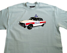 ROVER P6 V8 2000 2200 3500 Series 1 2 I II TC Police T-shirt  Vintage Retro