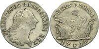 Preußen Magdeburg Friedrich II., 1740-1786 1/4 Taler 1764 Hohenzollern x5809