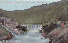 * ARGENTINA - Sierras de Cordoba - Dique Molet 1916 Censura Genova Posta Estera