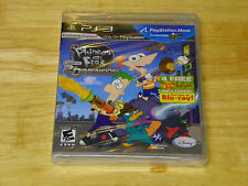 Phineas & Ferb: Across the Second Dimension (Playstation 3, 2011) Factory Sealed