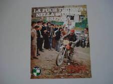 advertising Pubblicità 1972 MOTO PUCH MC 175