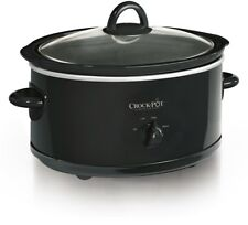 Crock Pot Manual Slow Cooker 7 Quart Black SCV700 B2