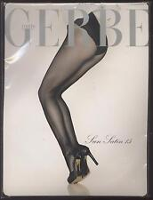 NEUF GERBE COLLANT SUN SATIN 15 COULEUR SINFONIE TAILLE 1 DENTELLE TIGHTS