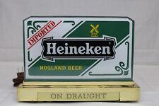 Heineken Imported Holland Beer Lighted Bar Sign