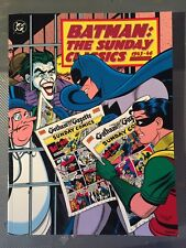 1991-BATMAN:THE SUNDAY CLASSICS-1943-46-1st PRINT NM VHTF BOOK -GREAT