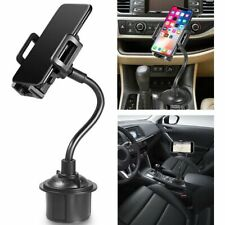 Car Mount Gooseneck Cup Holder Cradle For iPhone Samsung Huawei Xiaomi Phones