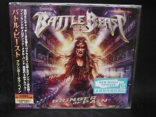 BATTLE BEAST Bringer Of Pain + 4 JAPAN CD Amorphis Brymir Rajavyohyke