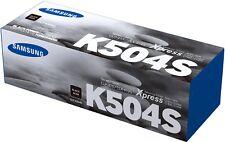 Samsung Genuine CLT-K504S BLACK Toner (SU160A) For CLP415 CLX4195 2.5K Pages