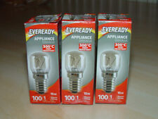 3 x 15 Watt Bulb Pygmy Oven EVEREADY Genuine E14 Salt Lamp SES Screw Cap