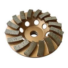 "4"" Concrete Grinding Cup Wheels 16 Diamond Abrasive Seg 5/8""-11 Arbor"