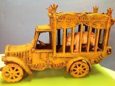 VTG Cast Iron Oveland Circus Truck with Polar Bear