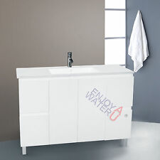$399 High End 1200x460 Bathroom Vanity Cabinet Luxury Freestanding Ceramic Basin