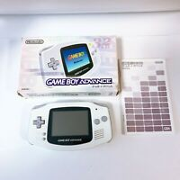 Nintendo Game Boy Advance Console System GBA White Handheld AGB-001