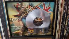 Iron Maiden Platinum Award for PIECE OF MIND