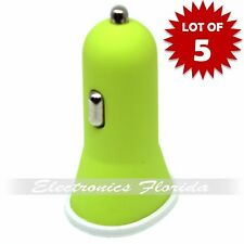x5 USB Car Charger Fast 1A 2A USB Adapter For Galaxy S4 5 Note 3 LG iPhone B573