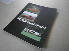 Catalogue auto  pub prospectus brochure: Karmann Golf Camping Car