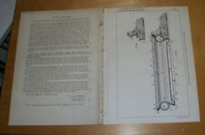 Des Améliorations Dans banjoes brevet. Goodman, Londres. 1901 banjos