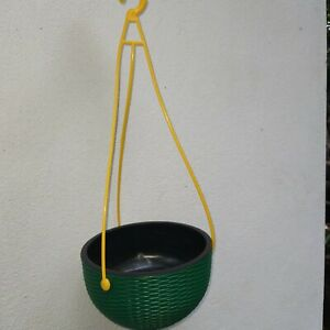 Hanging  Flower Pot with Planter Basket Suitable for Indoor ,Balcony and Garden