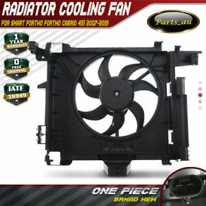 Radiator Cooling Fan for Smart Fortwo Cabrio Fortwo 451 Series 2007-2019 150W