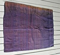 Antique weft Silk Pah Sin ikat skirt from Thailand