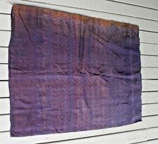 Antique weft Silk Pah Sin ikat skirt from Thailand
