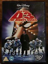 Emilio Estevez D3: THE MIGHTY DUCKS ~ Walt Disney Ice Hockey Comedy | UK DVD
