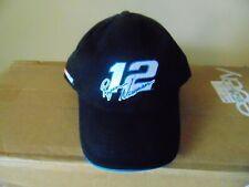 BASEBALL STYLE CAP HAT NASCAR GILLETTE YOUNG GUNS RYAN NEWMAN NUMBER 12 HOOK LOO