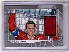 JEAN BELIVEAU 13/14 ITG Lord Stanley's Mug Hoisting the Cup Jersey #21 Canadiens