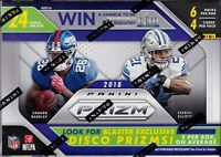 2018 Panini Prizm Football sealed blaster box 6 packs of 4 NFL cards 1 hit