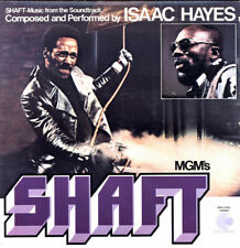 """ISAAC HAYES """"SHAFT"""" (SOUNDTRACK) 2 LPS PREMIUM QUALITY USED LP (NM/EX)"""