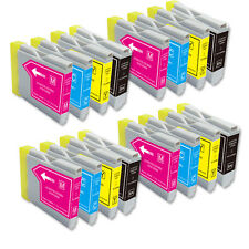 16 Pk New Ink Jet Bundle Set for Brother LC51 MFC 680CN 685CW 845CW 885CW 3360C