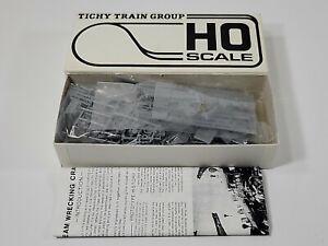 Tichy Train Group Ho Scale Steam Wrecking Crane Kit #4010