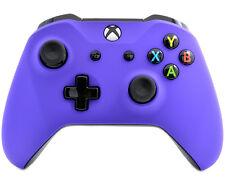 """Soft Touch Purple"" Xbox One S Custom UN-MODDED Controller Unique Design"