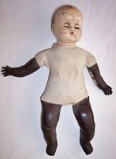 "Antique Composition Baby Doll 15"" Open Close Eyes"