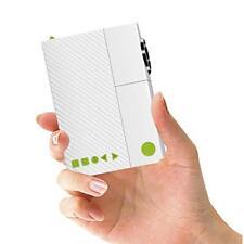 Artlii Mini Videoprojecteur, Cadeau de Noël Pico Projecteur LED Por(1. Blanc)