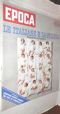 EPOCA 29 novembre 1975 Dossier anticoncezionali Wiesenthal Federico Fellini di e