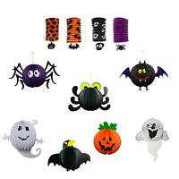 Halloween Paper Lantern Assortment Pull Lampion Kid Toy Party Hanging Decoration