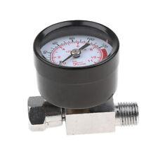 """1/4"""" Spray Gun Air Regulator with Pressure Gauge & Valve Pressure Switch"""