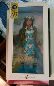 Pink Label 25th Anniversary Princess Of The Pacific Islands 2005 Barbie Doll