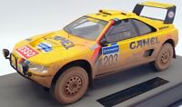 Top Marques 1/18 Scale TMPD 03AD - 1990 Peugeot 405 GT T16 Paris Dakar 1st Dirty