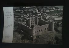 Harlech Castle Postcard. Wales from the Air.  A Real Photograph. No 890