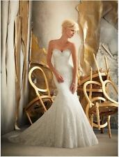 Morilee Lace Strapless Wedding Dresses