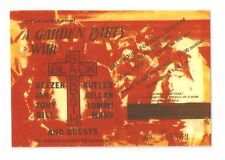 Black Sabbath-Dalymount Football Stadium,Dublin,August 1983 Repro Concert Ticket