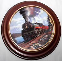 """ROYAL DOULTON  """"Canadian Pacific"""" National Rail Road - Collector's Plate: HA274U"""