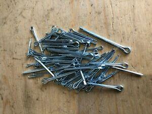 Packung Ca. 50g Verschiedene Verzinkt Klein Split Nadeln Splinte Kunst Handwerk