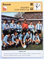 World Cup Argentina Single Football Trading Cards