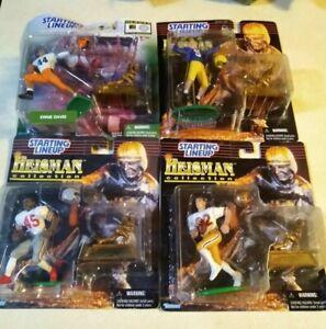 Football NFL Heisman Starting Lineup Figure Lot 8 Hornung Flutie Simms Rice